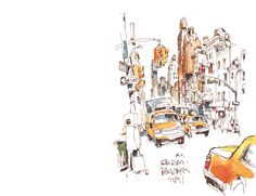 Felix Scheinberger. His sketches are amazing!