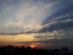 April #cloud #nubes #cielo #amanecer