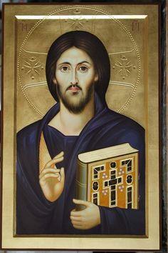 Religious Icons, Religious Art, Christus Pantokrator, Jesus Christ Images, Russian Icons, Byzantine Icons, Jesus Is Lord, Orthodox Icons, Ikon