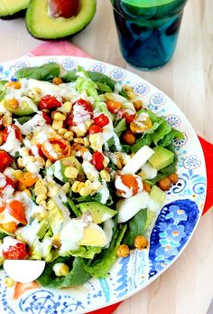 Try this Roasted Corn & Tomato Summer Salad for your next Bubbly Brunch!