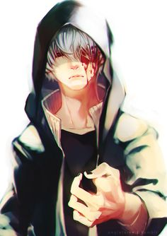 """angleterre: """" I'm still at chapter 110 of Tokyo Ghoul but I already know what is happening in TG:Re wwwwwww. Guest Art for my student's fanbook. """""""