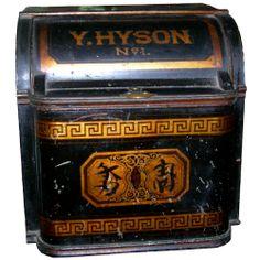 Antique tea box            ****