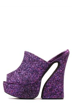 Jeffrey Campbell Shoes DAYANA New Arrivals in Purple