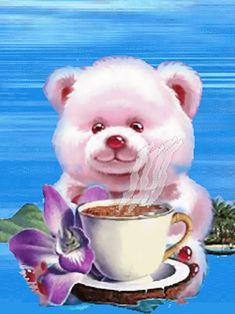 With Tenor, maker of GIF Keyboard, add popular Tuesday Good Morning animated GIFs to your conversations. Share the best GIFs now >>> Good Morning Cards, Good Morning Friends, Good Morning Greetings, Good Morning Good Night, Good Morning Images, Gif Pictures, Cute Pictures, Illustration Mignonne, Cute Bear