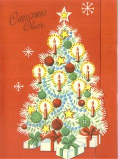 254 best Vintage Christmas Cards - Holiday Decor images on Pinterest ...