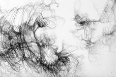 """Saatchi Online Artist: Paola Ricci; Graphite, Drawing """"I intra-vision particular"""""""