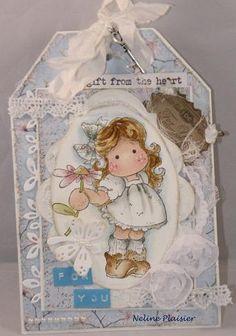 neline's magnolia blog Magnolia Blog, Magnolia Stamps, Love Tag, My Love, Magnolias, Copics, Mail Art, Handmade Cards, Bookmarks