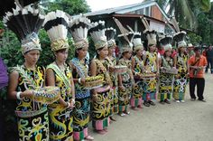 Borneo People | Dayak Tribe of Kalimantan Borneo Indonesia – Unique Culture Lives in ...