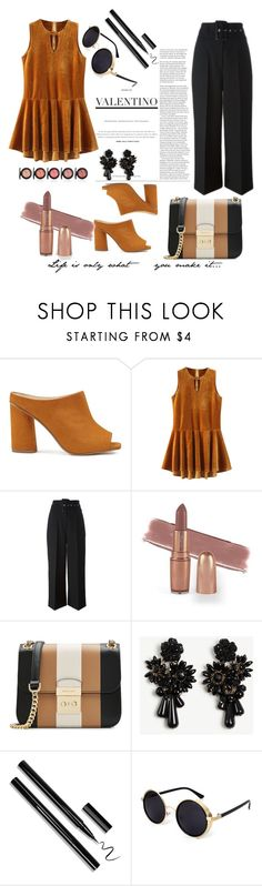 """Velvet Valentino ⚜️"" by goldenmermaidx ❤ liked on Polyvore featuring Miss Selfridge, Givenchy, MICHAEL Michael Kors and Ann Taylor"