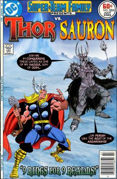 Super-Team Family: The Lost Issues!: Thor Vs. Sauron