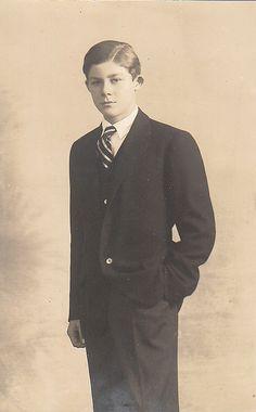 Prince Georg Wilhelm de Hanovre (1915-2006) fils du prince Ernest-Auguste II et de la princesse Victoria-Louise de Prusse