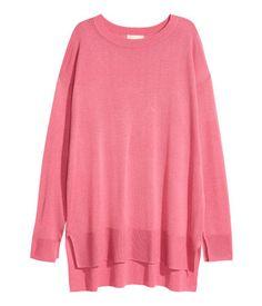 Fine-knit Sweater   Pink   Ladies   H&M US