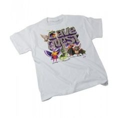 Cave Quest VBS 2016 Cave Quest Theme Youth T-Shirt - White