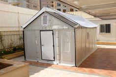 Better Shelter. Fotografía © Fundación Ikea. Señala encima de la imagen para verla más grande.