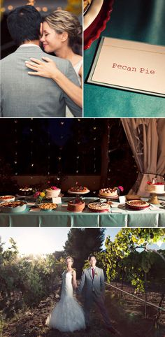 Awesome and varied dessert table.