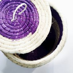 Yucateca Woven Straw Jar