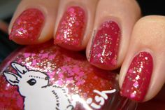 The Tropics Are Calling (ring and pinky over 1 coat of Teeez Femme Fatale)