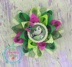 Inside out Disgust character inspired by ElliesHappinessBows