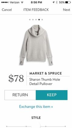 ohhh...thumbholes and a cowl neck...perfect!!
