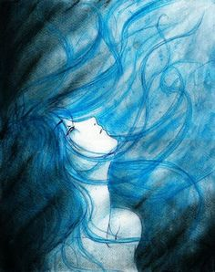 .:Blue:. by *kubcia on deviantART