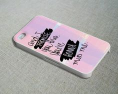 Andy Grammer Lyrics Miss Me  iPhone 4S Case iPhone by BorneoVirgin, $12.99