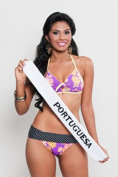 Miss Turismo Portuguesa 2013, Maria Jose Yustiz de 18 años y 1,76 mts @MariaJYustiz