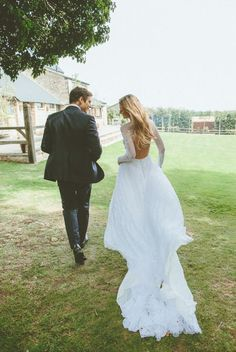 Vestido de noiva – Mangas compridas