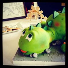 Dino Birthday Party Ideas | Photo 21 of 39