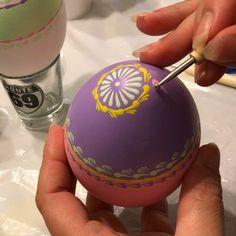 "11 Likes, 1 Comments - Gitka Schmidtova (@gitkaschmidtova) on Instagram: ""Work in progress.. #progress #art #artwork #pastel #pysanky #pysankyeggs #egg #eggart #kraslice…"""