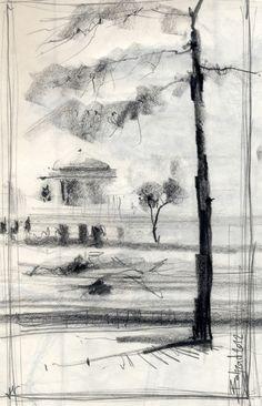 Urban Sketchers: Trees