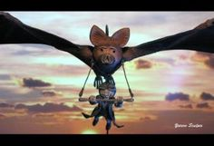 Nighthob  Stupid Bat The Neverending Story sculpts by yotaro-sculpts