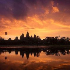 Sunrise at Angkor wat temple.  Hello I'm Heng - the friendliest and most professional tuk-tuk driver in Siem Reap of Cambodia.  I am here to assist you to have the best holiday in my beautiful and historic city.  Contact Details I would be very happy and proud to host you and your family/friends on your trip to Siem Reap.  Phone:  +855 86 864 127 WeChat, WhatsApp, Viber, Tango E-mail: henghappytuktuk@gmail.com  #henghappytuktuk #SiemReap #Cambodia #Asia #Travels #Vacation #tuktuk #Contact