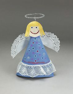 Kids Make This Craft To Remember Help Others On Angel Day August Then Move Their Adorable High Be A Christmas Tree Topper