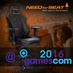 Win one of two MAXNOMIC eSports chairs! Gamescom 2016 Raffle... IFTTT reddit giveaways freebies contests