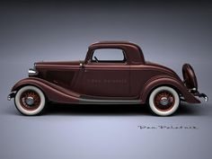 A Garagem Digital de Dan Palatnik | The Digital Garage Project: 1933 Fords