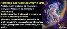 diane.ro: Horoscop Capricorn noiembrie 2015