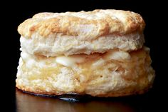 You are making your biscuits wrong! Biscuits and sausage gravy. Homemade Biscuits, Buttermilk Biscuits, Blueberry Biscuits, Flaky Biscuits, Quick Biscuits, Making Biscuits, Tea Biscuits, Healthy Recipes, Gastronomia