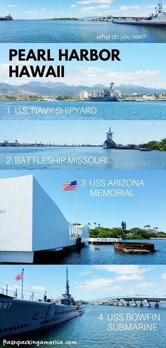 Can you visit Pearl Harbor without a tour? YES but... 🌴⚓ Oahu Hawaii travel blog - Flashpacking America