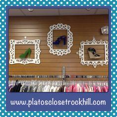 Cute Shoe display #pcrockhill