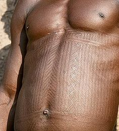 """Africa   """"Scarification and Tattooing in Benin: The Bétamarribé tribe of the Atakora Mountains, near the town of Natitingou"""". TheBétamarribé are known throughout Benin as the 'Masters of Scarification'.  ©Lars Krutak."""