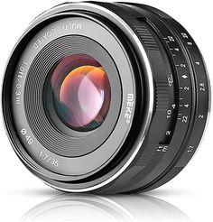 im Test 2020 Meike Objektiv manueller Fokus für spiegellose MFT Kamera Sony A5100, Nikon, Fixed Lens, Still Picture, Sony E Mount, Street Snap, Canon Lens, Lens Flare, Aperture