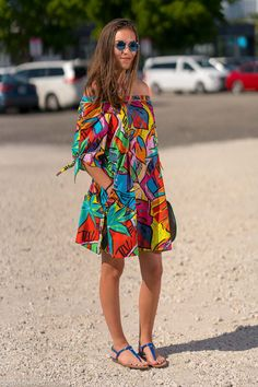 Items similar to Summer in Colors, Cotton Dress on Etsy Cute Summer Dresses, Summer Outfits, African Wear Dresses, Urban Chic, Preppy Outfits, Summer Sale, Cotton Dresses, African Fashion, Spring Summer Fashion