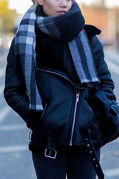 How to Dress for Cold Weather and Still Look Chic via @PureWow