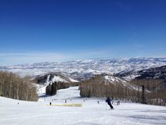 Spring Skiing in February! Park City Mountain Resort!