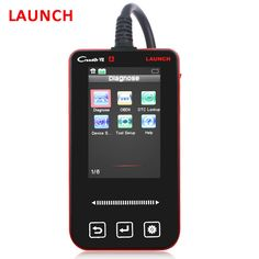 92.40$  Buy now - http://aliavr.worldwells.pw/go.php?t=32631924149 - Original Launch Creader VII Creader 7 OBD2 EOBD Code Reader OBDII Car Diagnostic Tool For ABS ESP Airbag SRS Reset Free shipping 92.40$