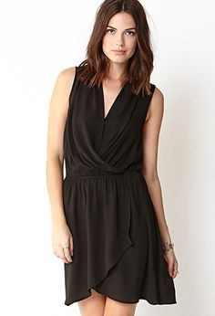 Must-Have Surplice Dress | FOREVER21 - 2040495258 $22 at forever21