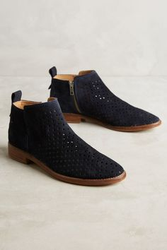 Hudson Revelin Perforated Boots