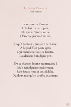 Oh ma muse. French Words, French Quotes, Citation Pinterest, Mots Forts, Paul Verlaine, Prayer Wall, Encouragement, More Than Words, Learn French