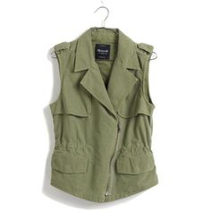 MADEWELL Modern Safari Vest ($98) ❤ liked on Polyvore featuring outerwear, vests, jackets, tops, sea grass, checkered vest, checked vest, vest waistcoat, cotton vest and biker vests