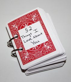 Give him a whole deck of cards for Valentine's Day!
